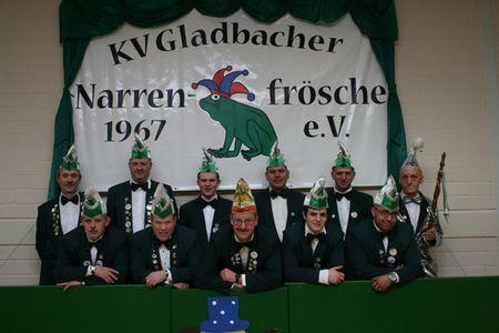 Die Gladbacher Narrenfrösche